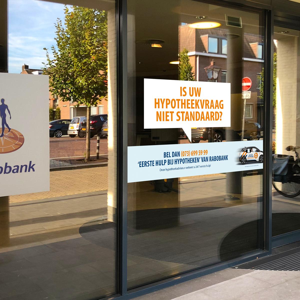 Signing 'Eerste hulp bij hypotheken' Rabobank