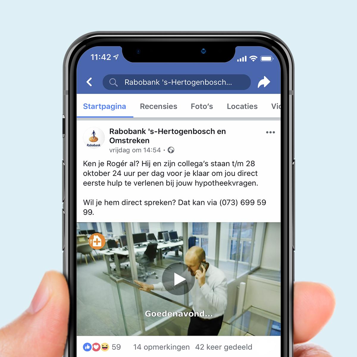 Online 'Eerste hulp bij hypotheken' Rabobank