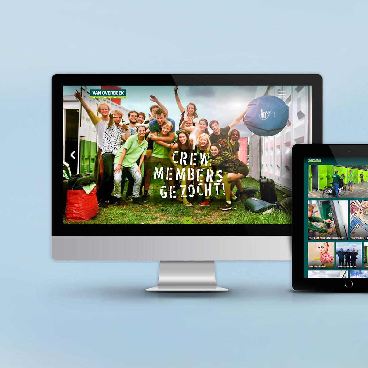 website Van Overbeek
