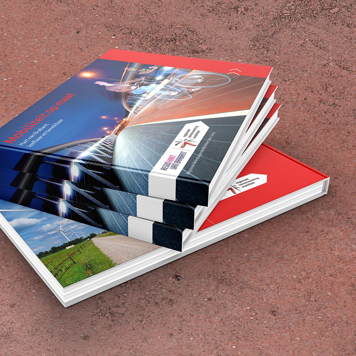 Vormgeving boek 'Mobiliteit op maat'