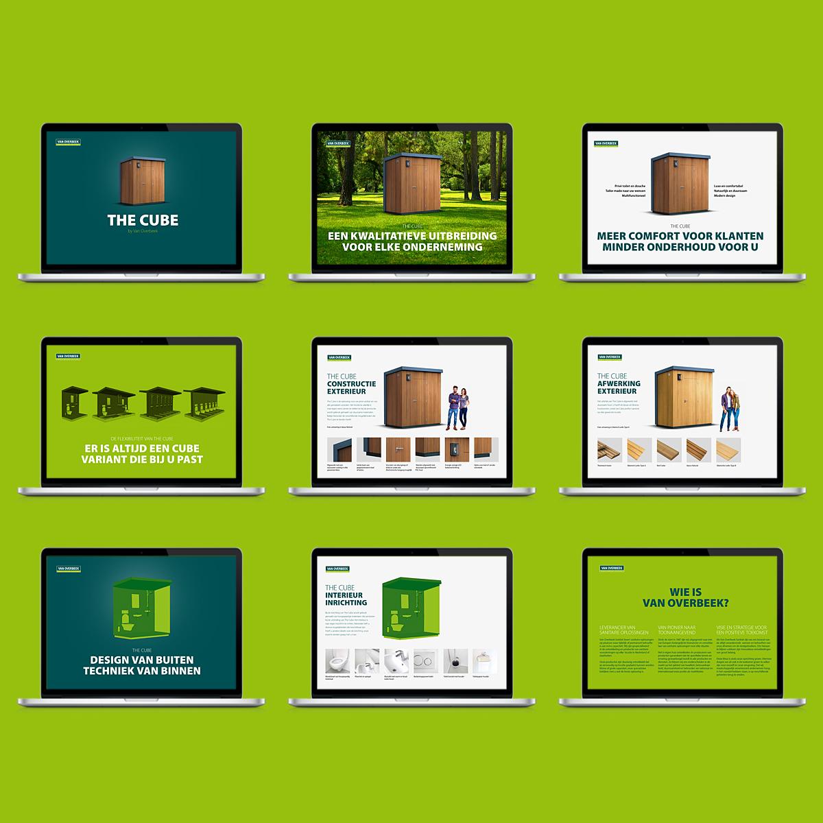 Online brochure The Cube voor Van Overbeek
