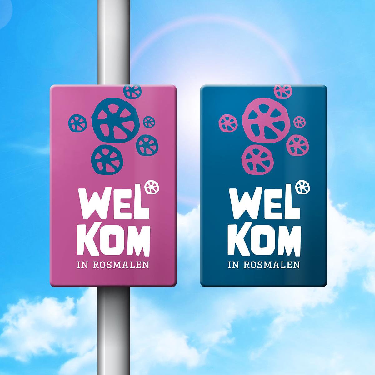 Huisstijl 'Welkom in Rosmalen'